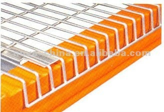 Inverted F Support Wire Mesh Decking für Palettenregal